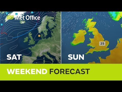 Weekend weather - Easter record-breaker? 18/04/19