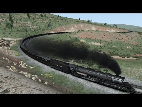 Train Simulator 2015 HD: Union Pacific Big Boy 4014 Powers 60 Car Coal Drag Over Soldier Summit