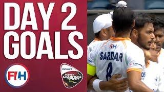 Day 2 ALL THE GOALS! | 2018 Men's Hockey Champions Trophy