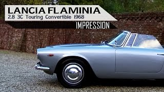 LANCIA FLAMINIA 2.8 3C TOURING Convertible 1968 - Small test drive - Engine Sound | SCC TV