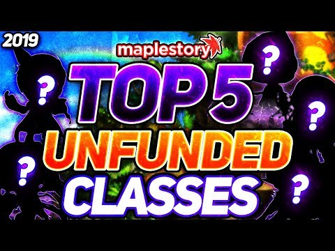 Maplestory Best Class 2020.Maplestory Top Five Classes For Unfunded Players 2019