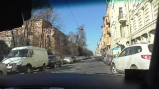 Урок автовождения в городе с автоинструктором.