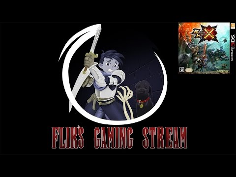 Flik's Gaming Stream - Monster Hunter X Dynamic Duo
