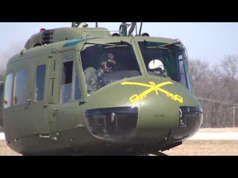 Restored Vietnam UH-1H Bell Huey First Flights HD