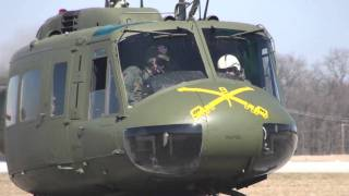 Restored Vietnam UH-1H Bell Huey First Flights HD