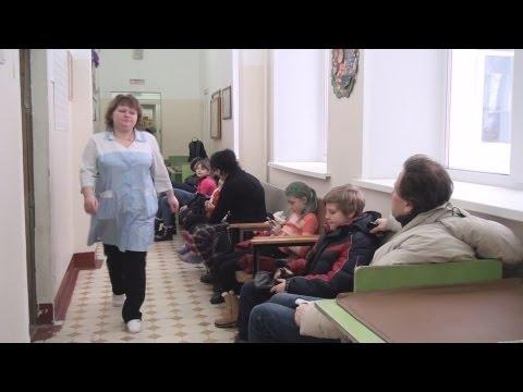 ТВЭл - Острая ситуация с ОРВИ в Электрогорске (21.01.16)