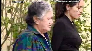 Wharenui built in Howick is burnt down Marae Investigates TVNZ 31 Oct 2010