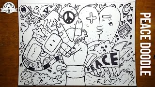 Peace Doodle | Doodling Time