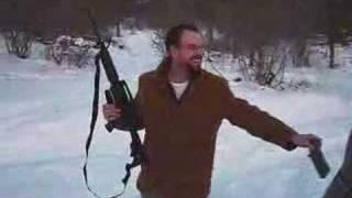Bushmaster M4A1 AR-15 (rubberband trick)
