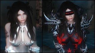 Skyrim: Hot Wear & Daedric Glowing Chainmail