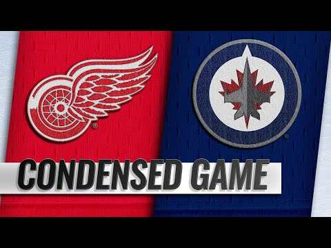 01/11/19 Condensed Game: Red Wings @ Jets