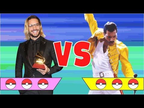 MALUMA vs FREDDIE MERCURY   Batalla Pokemon 2