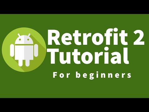 Android Retrofit 2 Tutorial: 14 Simple Retrofit Project Example Part