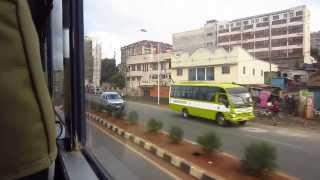 driving in Nairobi , Kenya