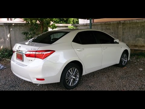 รีวิว All New Toyota Corolla Altis 2014 1.8E คลิป 1