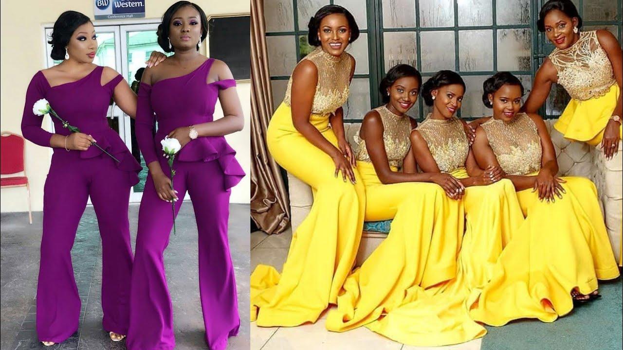 African Bridesmaid Dresses 2019, Volume 5 #Super Cute