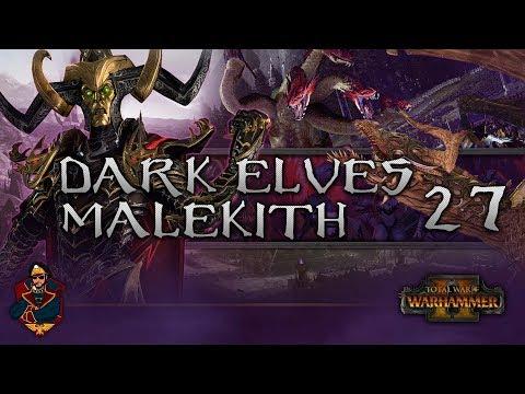 [27] WAR HYDRA SPAM! GREAT DEFENSE! - Total War: Warhammer 2 (Dark Elves) Campaign Walkthrough
