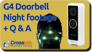 UniFi Protect G4 Doorbell Night footage and Q&A