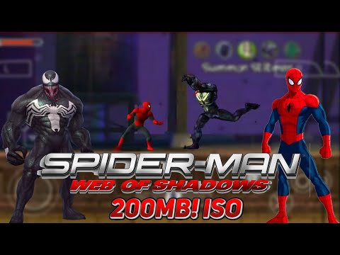 """-spiderman-web-of-shadows-""-(ppsspp/psp)-gameplay-&-download"