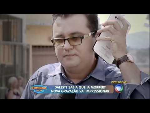 Gravação deixada em tablet indica que MC Daleste sabia que ia morrer