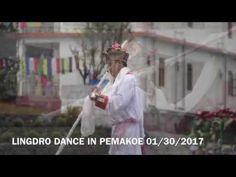 Lingdro - A Holy & Secred Dance of Ling Gesar Jalpo|Tuting|Pemakoe
