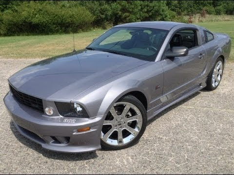 used 2006 ford mustang saleen s281 only 6400 miles for sale youtube. Black Bedroom Furniture Sets. Home Design Ideas