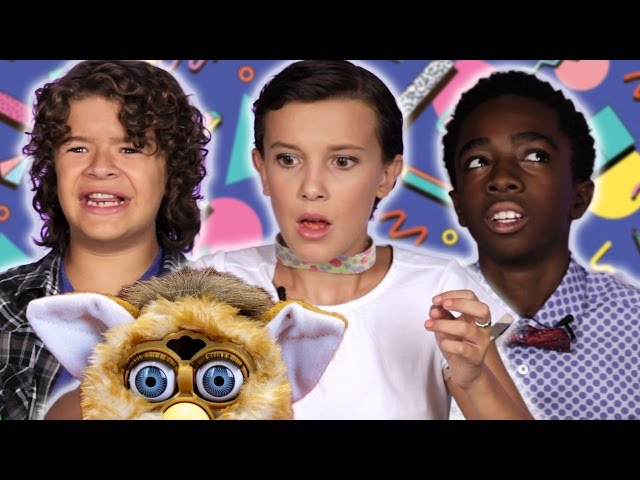 "The Cast of Stranger Things"" Review Retro Toys"