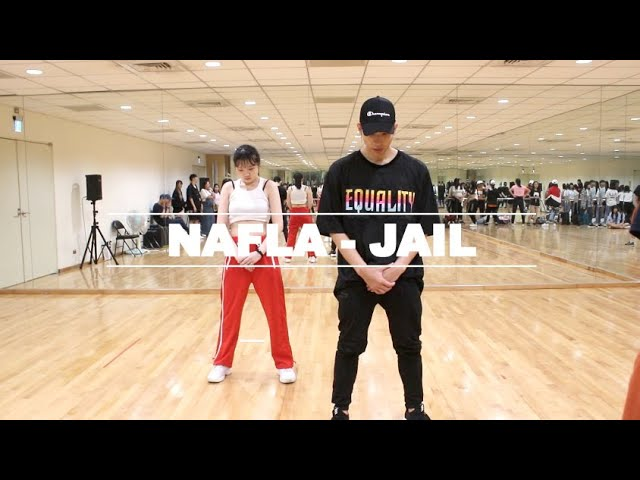 【Idol Workshop】Nafla - Jail Dance Cover Choreography SHIN MIN SUB