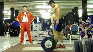 150kg Power Snatch Full Snatch at U77kg