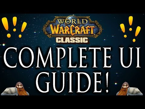 Clean UI Addons - Classic Vanilla WoW - Complete Guide