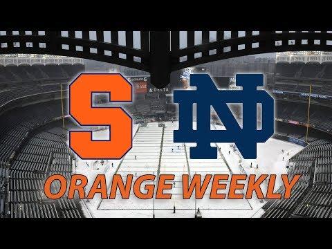 Orange Weekly: Syracuse football vs. Notre Dame at Yankee Stadium, Basketball visits MSG