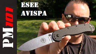 ESEE, Avispa, Zancudo, EDC Knife, Folder, Preparedmind101 does the ...