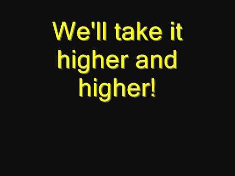 The Blackout - Higher and higher Lyrics