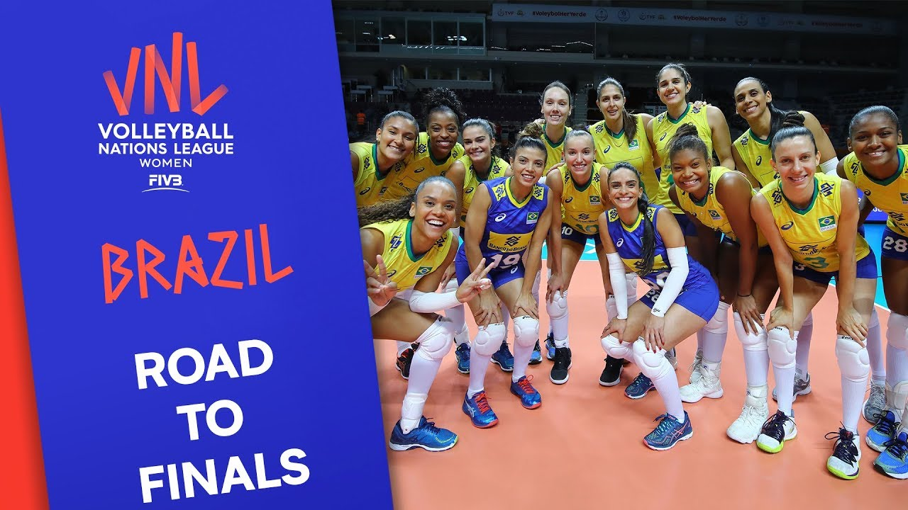 Brazil - Women's Road to Finals | FIVB Volleyball Nations League 2019