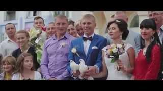 Романтическая свадьба Андрея и Татьяны 11-07-2015 Речица