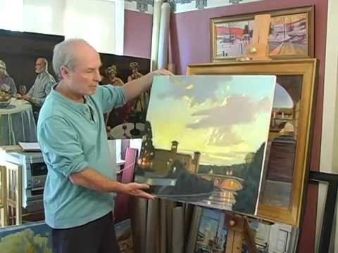 Introduction to the process of plein air painting in Italy