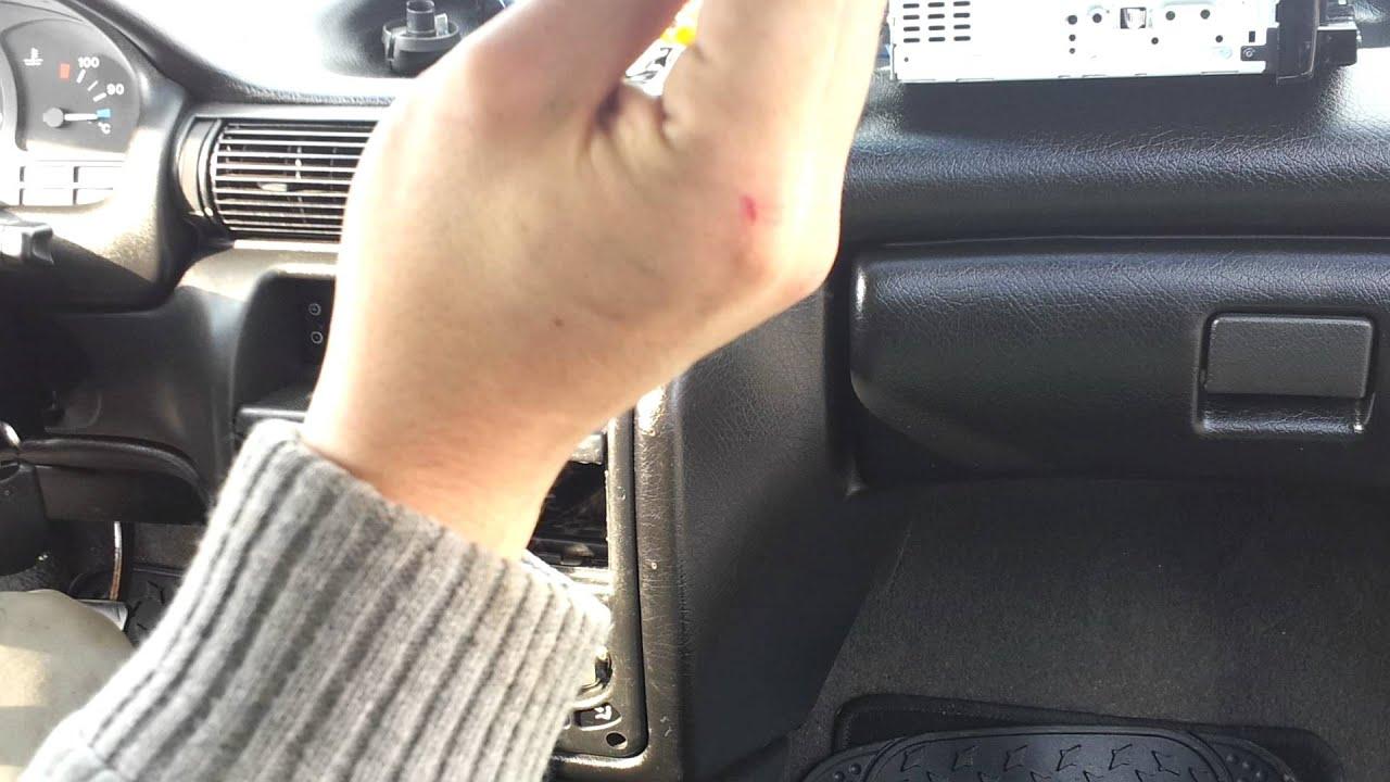 Wymiana żar 243 Wek Opel Astra 1 Deska Youtube