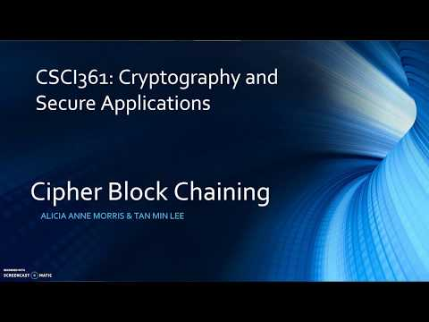 Cipher Block Chaining (CBC)