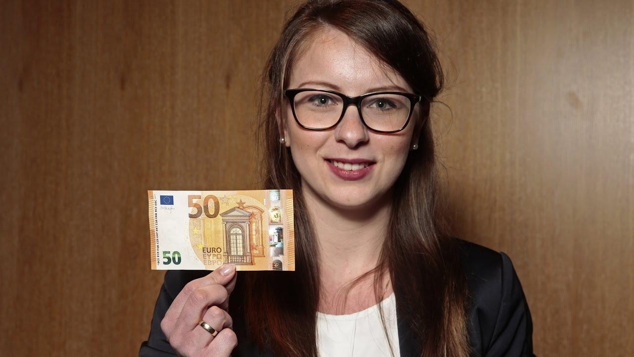 Neue Sicherheitsmerkmale Das Ist Der Neue 50 Euro Schein Youtube