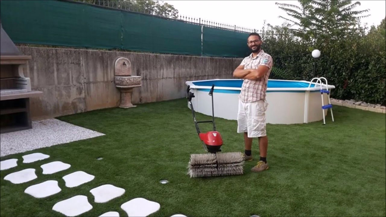 Idee giardino piscina seminterrata giardino youtube
