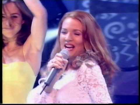 Gina G    Ooh Aah live   on  topofthepops