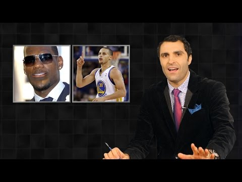 Mean, Median, and Mode in Statistics, with Steph Curry and LeBron James, on StatsCenter (Ep. 4)