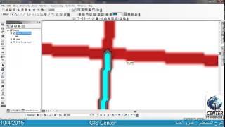 17-شرح ARCGIS: شرح شريط Advanced Editing فى برنامج ARCGIS.
