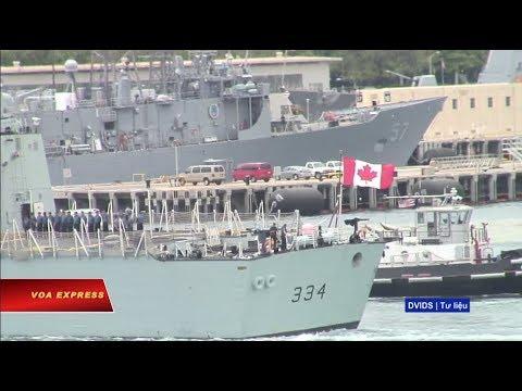 Truyền hình VOA 23/5/19: Tàu Hải quân Canada sắp thăm Vịnh Cam Ranh
