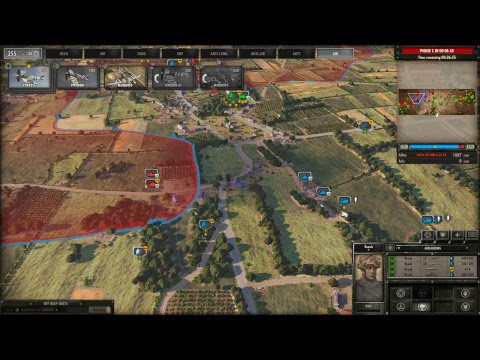 Steel Division: Normandy 44 stream Re devils in action  in sword map |