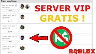 HOW TO HAVE A FREE VIP SERVER IN ROBLOX 2019