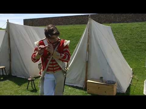 The British Grenadiers played on Fife