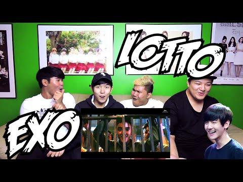 EXO - LOTTO MV REACTION (FUNNY FANBOYS)