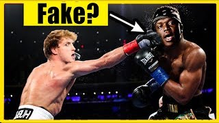 War der KSI vs LOGAN PAUL Kampf FAKE ?