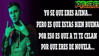 AJENA-Dylan fuentes Ft. Mike towers (LETRA)